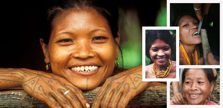 Metoda Mentawai de înfrumusețare a dinților