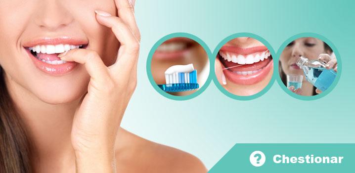 Chestionar – igiena orală